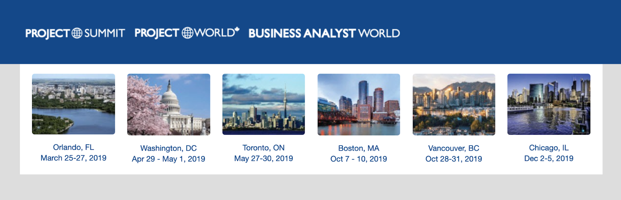 Project Summit Business Analyst World