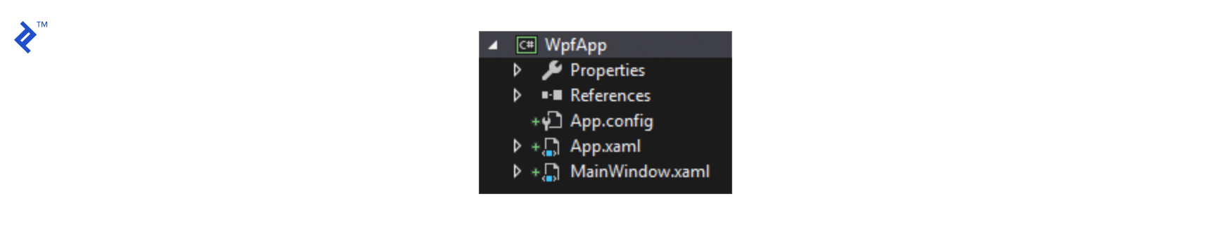 WPF App structure