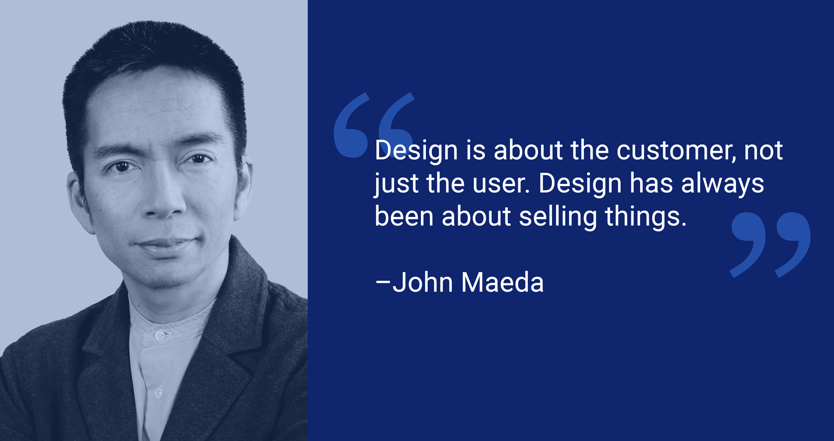 Strategy and design work together to create better experiences for the customer.