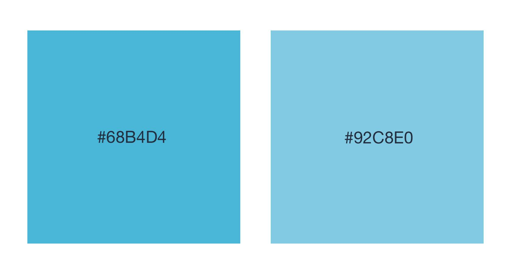 UX design for developers - hex color values