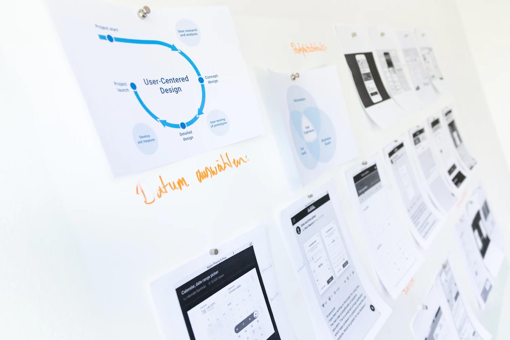 Learning to create wireframes - teach yourself UX design