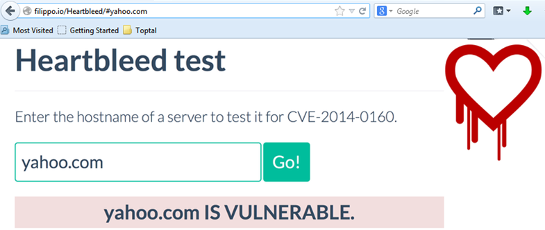 If you're wondering how to protect against Heartbleed, start by using the Heartbleed test.