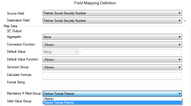 This data mapping example shows easier configuration using MetaDapper versus custom code.