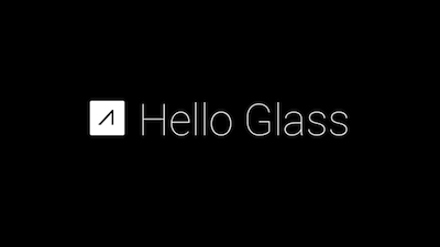 The Google Glass app you developed is now available.