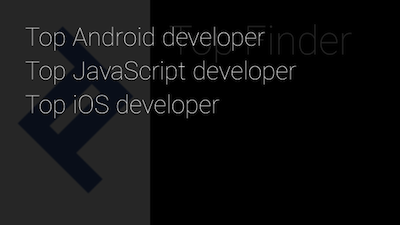 Here are voice commands to pull up top developers on the Glass screen.