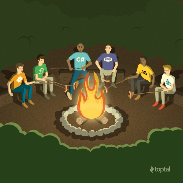 Think of all the web development mistakes that could be avoided at this campout!