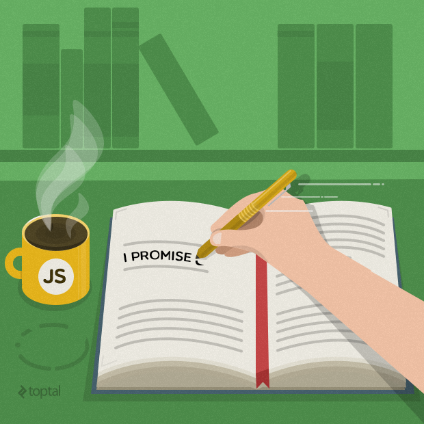JavaScript promises are explained in this comprehensive tutorial.