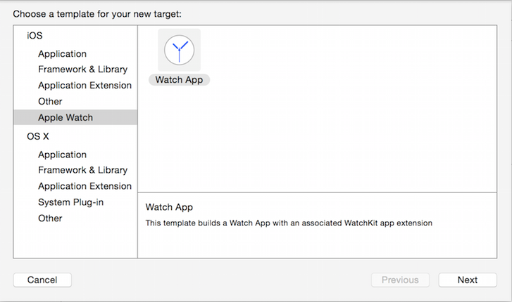 To develop an Apple Watch app, start with your current iOS app and add the Watch app as a new target.