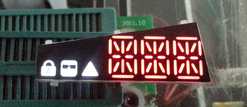 The LED display is central to building the best keyboard for developers in this tutorial.