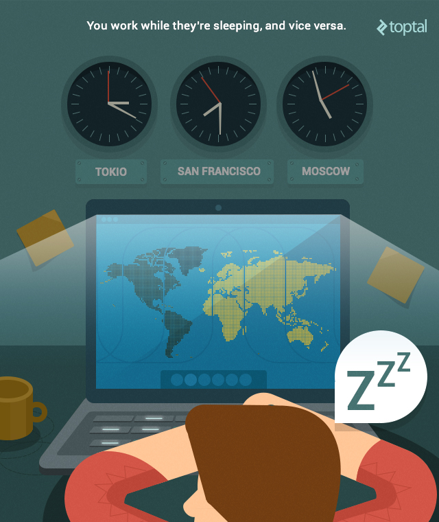 remote teams and time zones