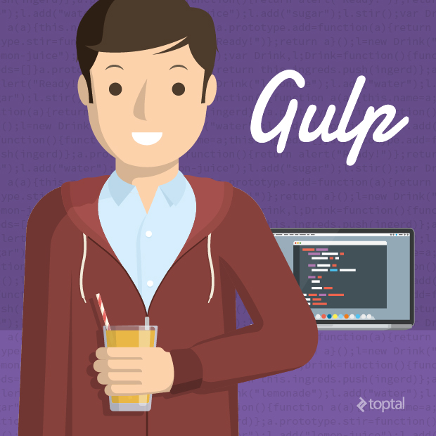 gulp and javascript automation