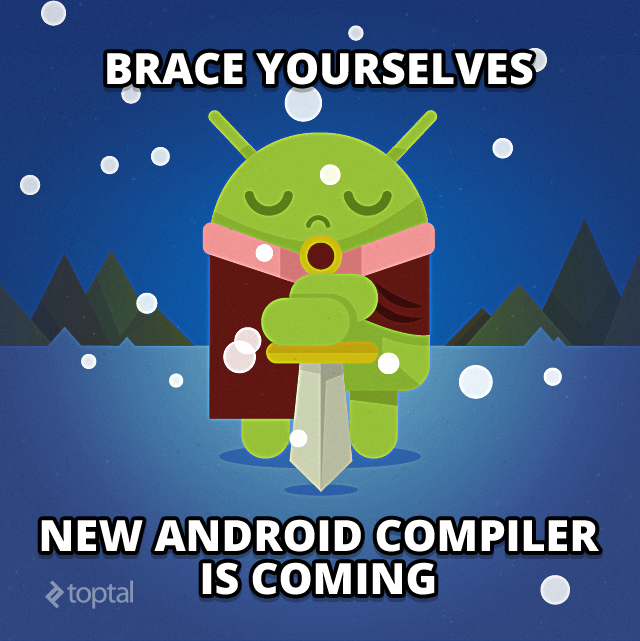 Android compiler illustration