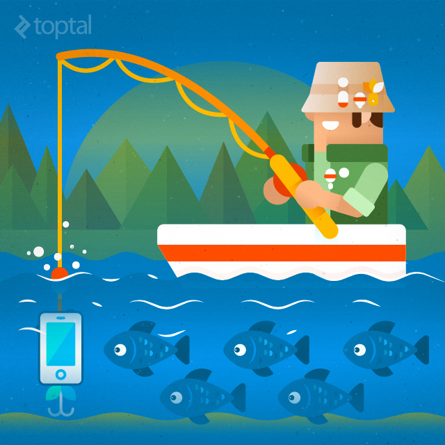 Toptal fatsack outdoors fishing app