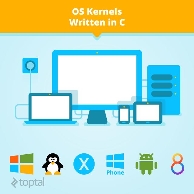 Operating System Kernels Written in C