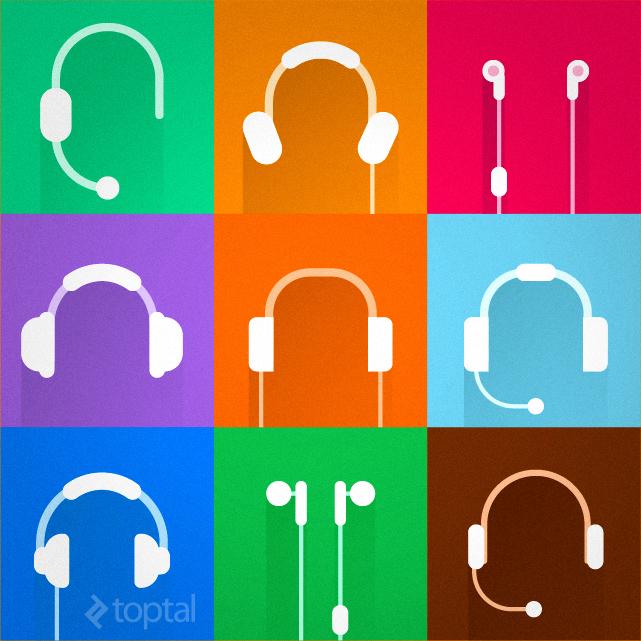 Headphones for developers