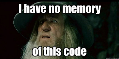 IMAGE: BAD PROGRAMMER GANDALF