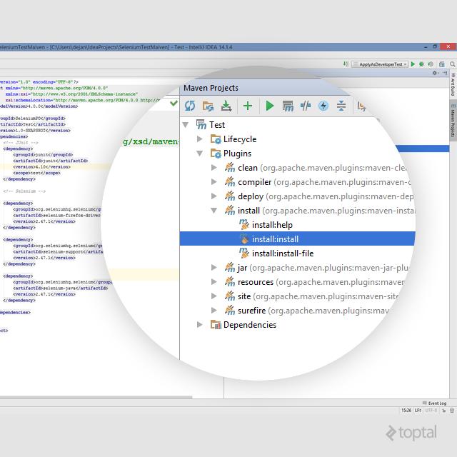 selenium testing tutorial IDE screenshot