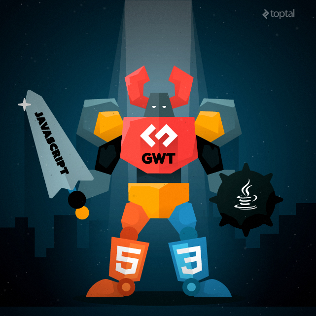 GWT is great for building powerful, large-scale web applications.