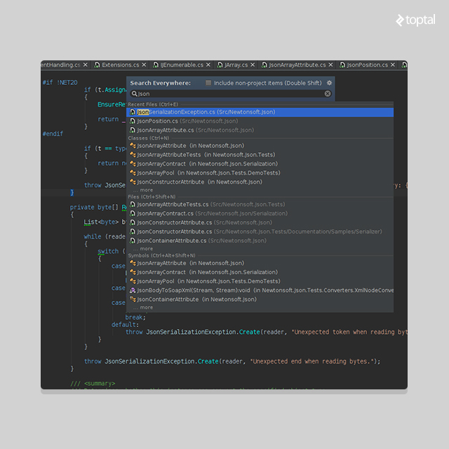 C# and .NET IDE 'Project Rider' has all the functionality of ReSharper and the IntelliJ platform!
