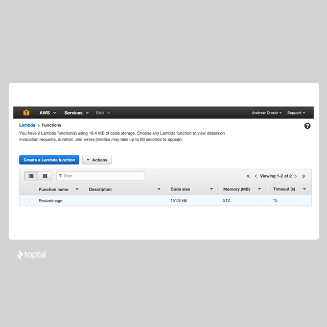 AWS Lambda for Ultimate Service Oriented Architecture | Toptal