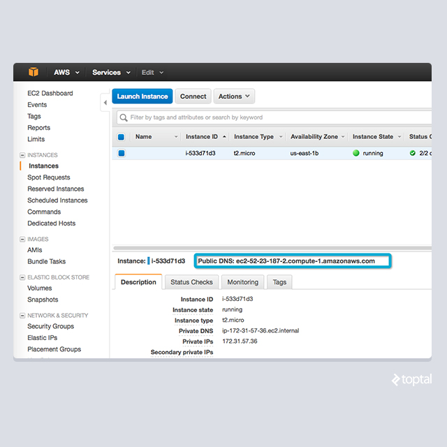 Setting up your first EC2 server in the AWS