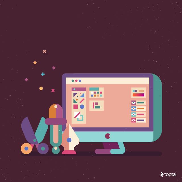 Un buen desarrollador de Front-End tiene que usar herramientas de gráficos profesionales. No aceptar un sustituto.