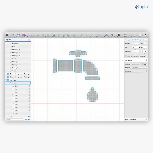 Vectors have to be rendered in pixels