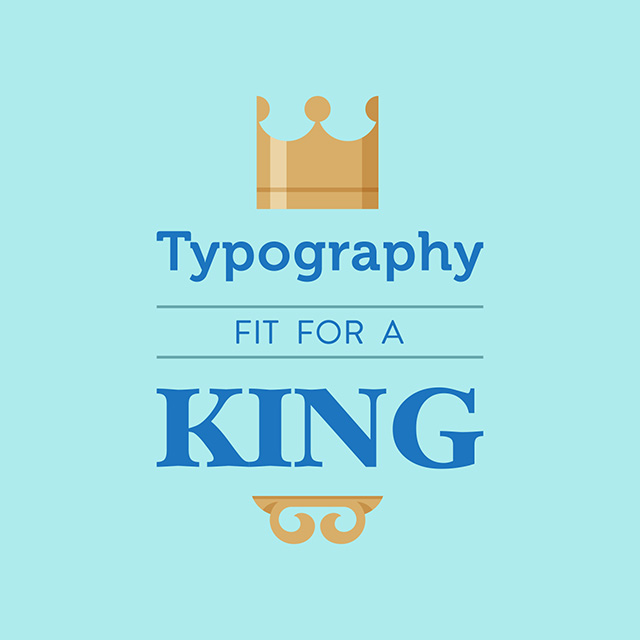 Designing custom fonts and icons is a straightforward way to take typography to the next level.