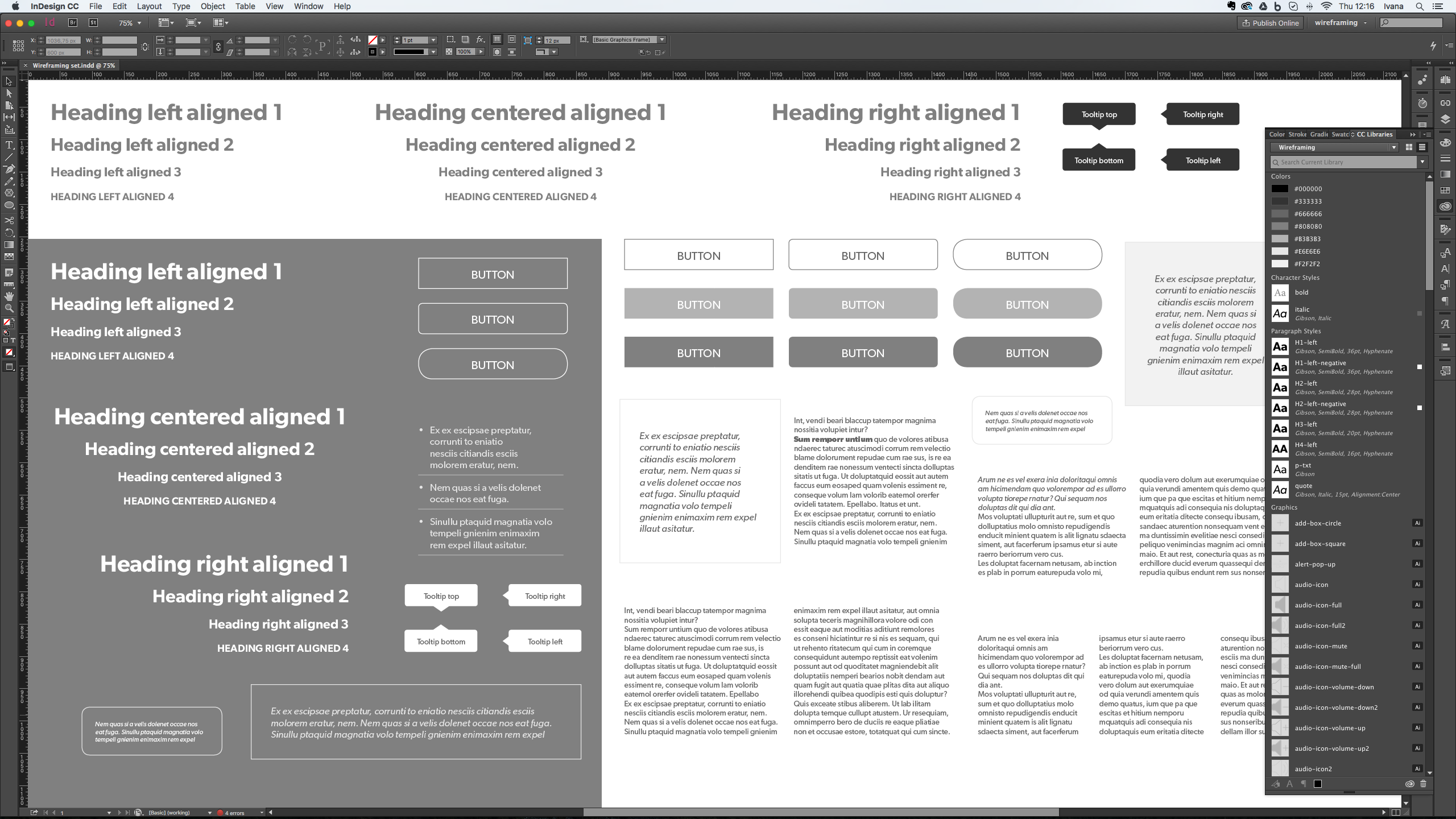 Who knew Adobe CC Could Wireframe
