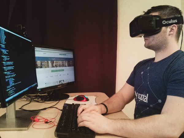 oculus rift and the remote office