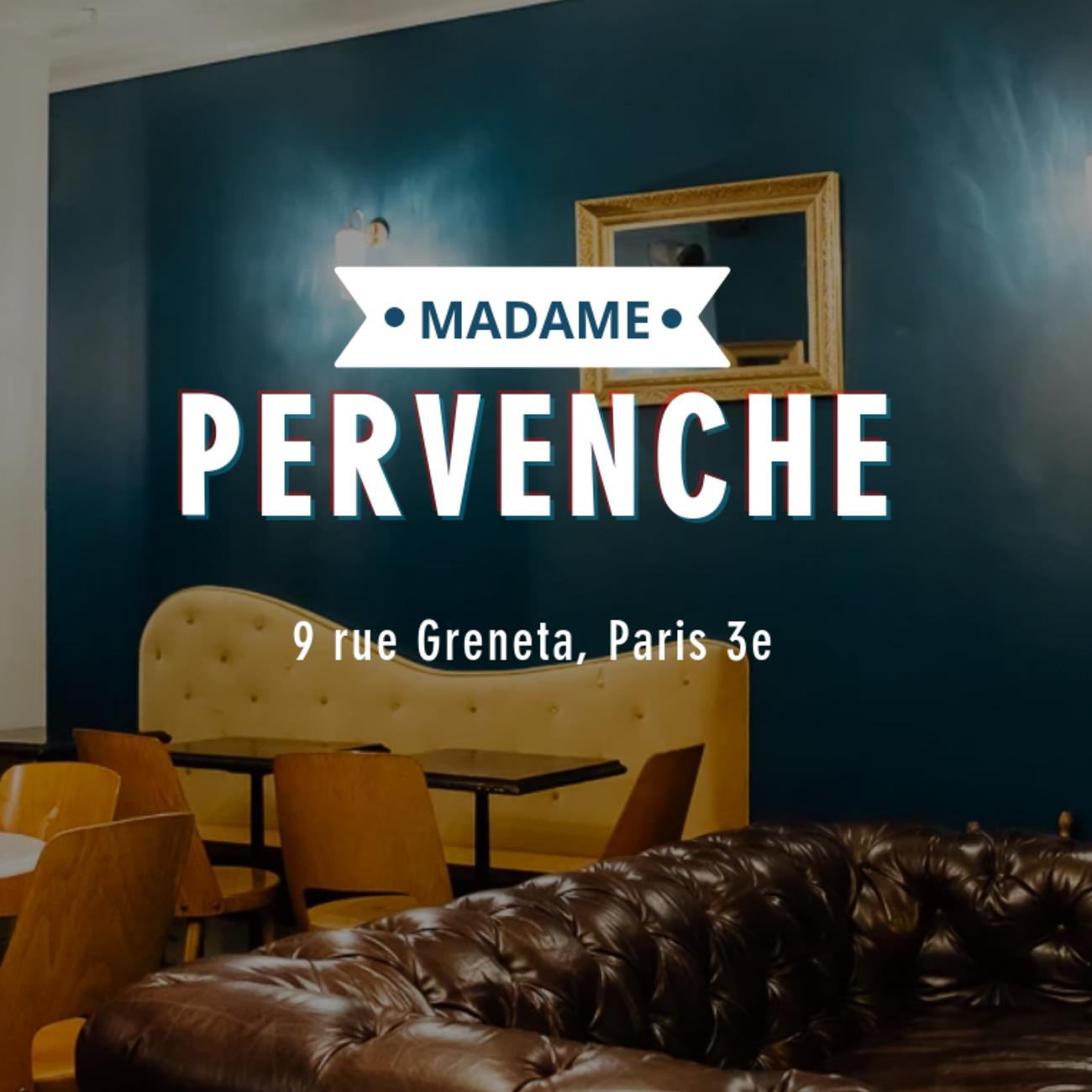 Cover madame pervenche