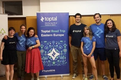 Toptal Road Trip Eastern Europe: Toptal Coworking Day in Split - Sep 5, 2016