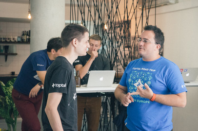Toptal Road Trip Eastern Europe: Toptal Coworking Day in Prague at InVision LABS - Sep 20, 2016