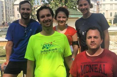 Toptal Road Trip Eastern Europe: Toptal Run in Sarajevo - Sep 11, 2016
