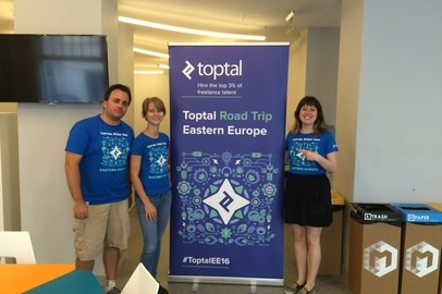 Toptal Road Trip Eastern Europe: Toptal Coworking Day in Budapest - Sep 15, 2016