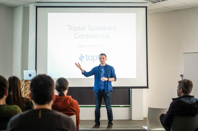 Toptal Speakers Conference Zagreb - Mar 11
