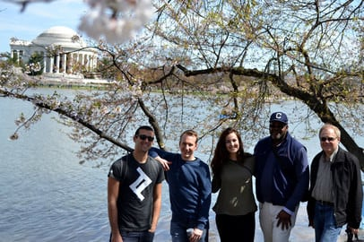 Toptal Road Trip USA: DC Cherry Blossom Gathering - Apr 2, 2017
