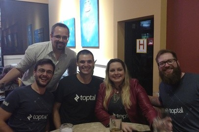 Toptal Florianópolis Happy Hour - Apr 19