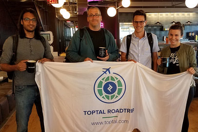 Toptal Road Trip USA: Toptal Coworking Day in Dallas - May 15, 2017