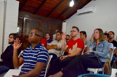 Toptal Roadtrip South America: Toptal and Base Coworking Tech Night - Mar 10, 2016