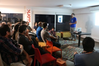 Toptal Roadtrip South America: Toptal and Co-Work Tech Night - Mar 16, 2016