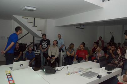 Toptal Roadtrip South America: Toptal and Coworking Rosario Tech Night - Apr 7, 2016