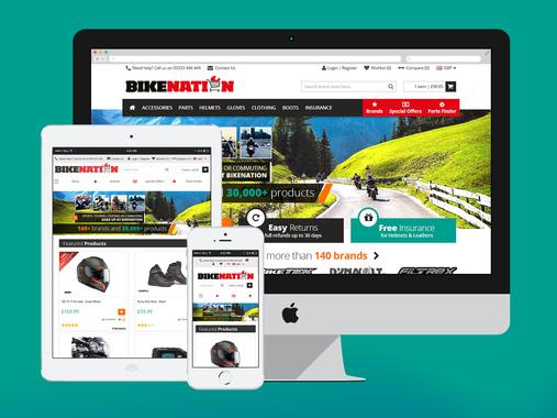 BikeNation   eCommerce   UX   UI