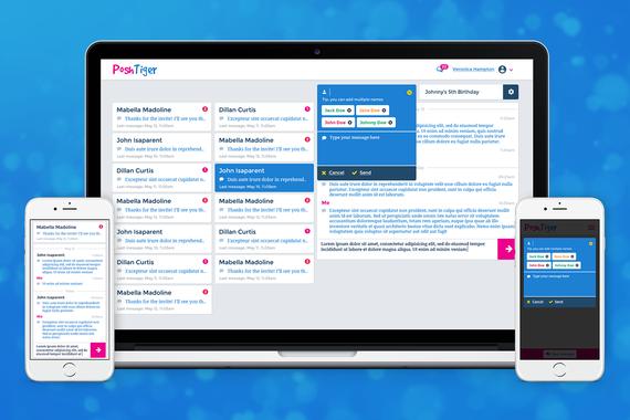 PoshTiger   Highly Responsive Web App   Lead Designer