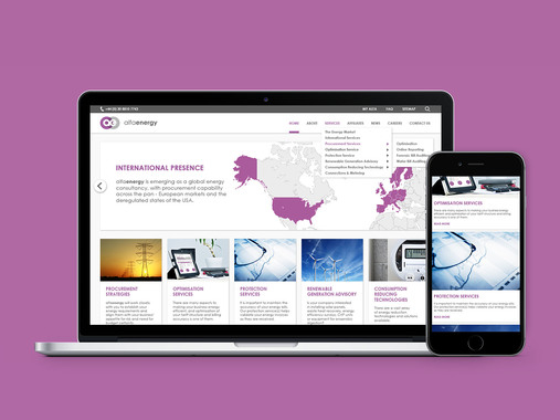 Alfa Energy Group Website