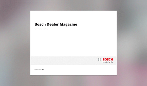 Bosch Style Guide