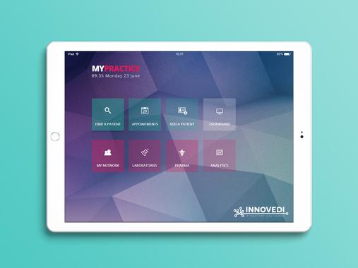 iPad App for Health Professionals
