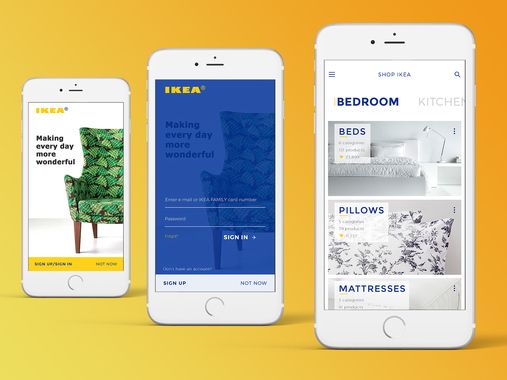 iPhone App for IKEA - Concept