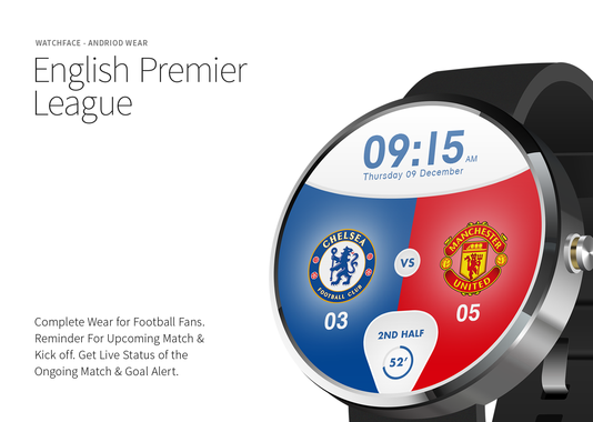 English Premiere League Watch Face