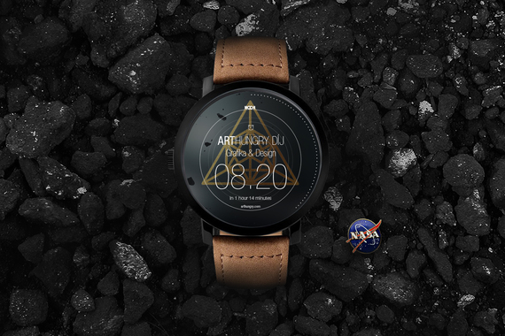 MOON Android Wear | Smart Watch Concept